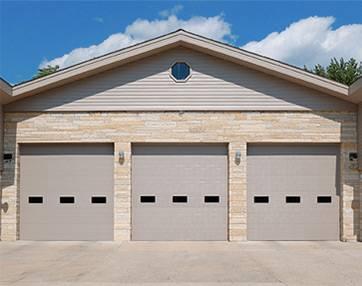 Insulated Sandwich Micro-Groove Commercial Garage Doors - Garage Door Services, Inc.