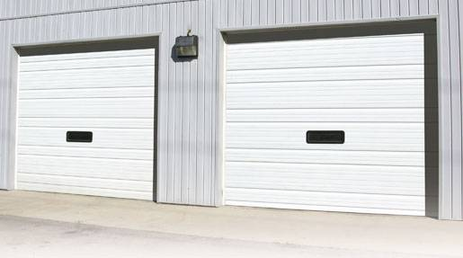 Ribbed Steel Pan Amp Pan Insulated Garage Door Services Inc