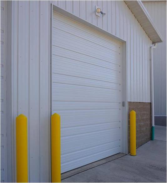 Ribbed Steel Pan & Pan-Insulated Commercial Garage Door - Garage Door Services, Inc.