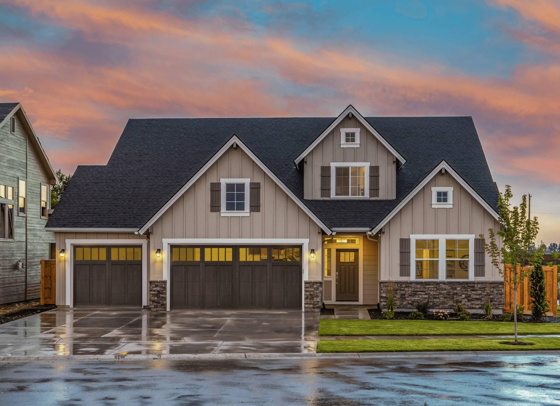 Shoreline Residential Garage Door - Garage Door Services, Inc.