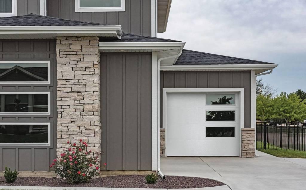 Skyline Flush Residential Garage Door - Garage Door Services, Inc.