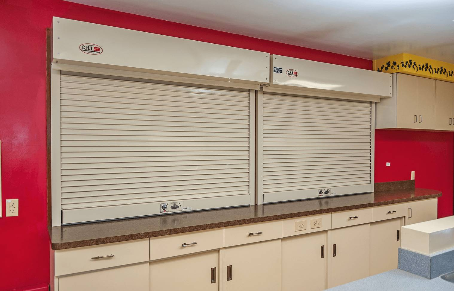 Counter Shutters - Garage Door Services, Inc. - Omaha, NE Council Bluffs, IA