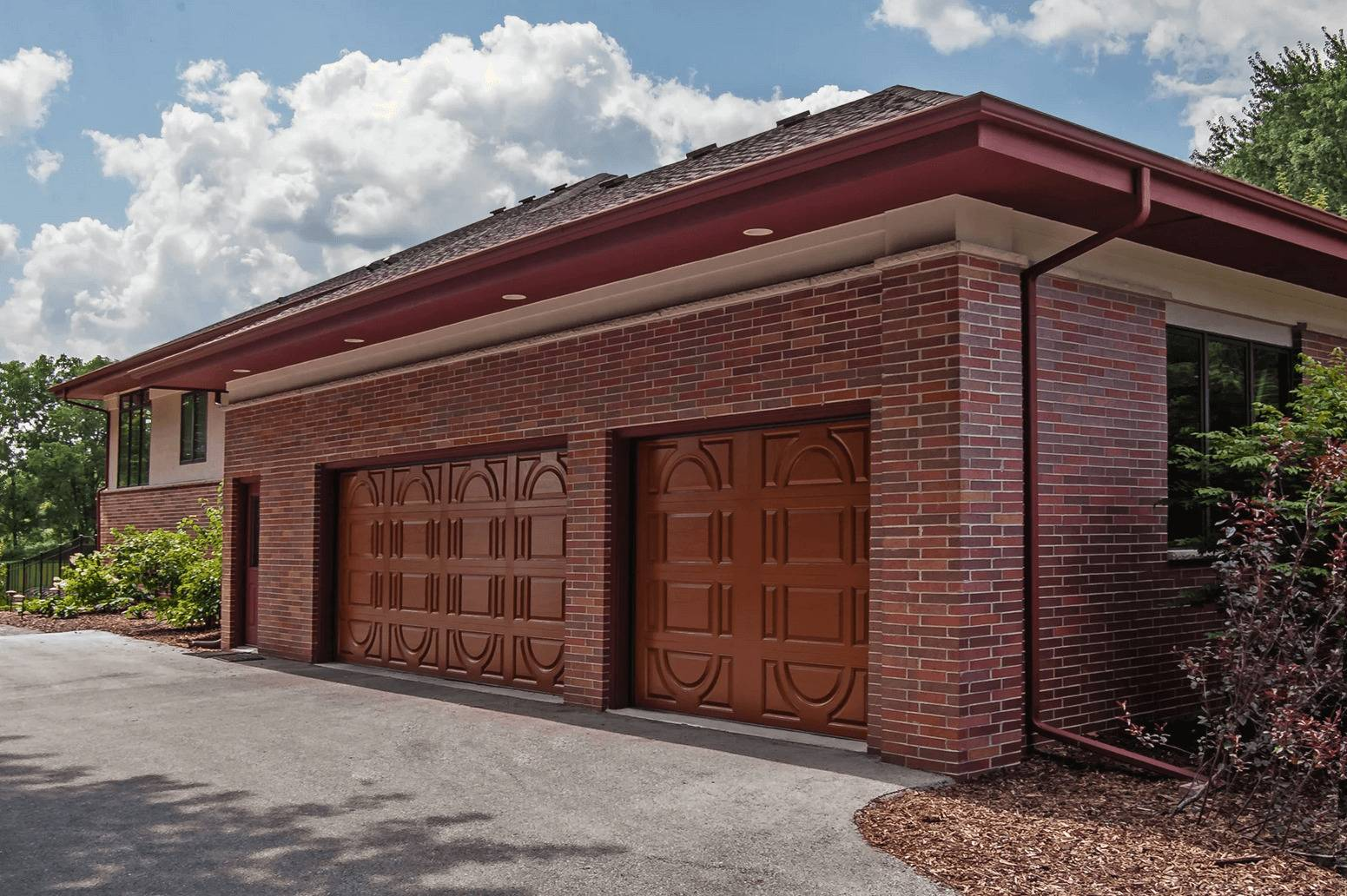 High-Definition Fiberglass Garage Door
