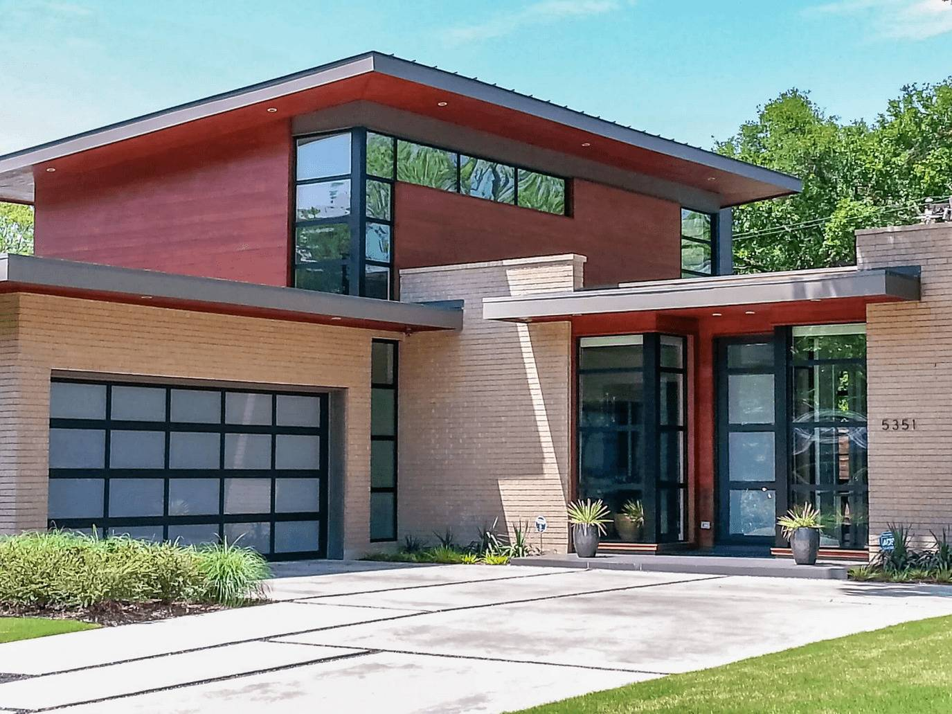 Full View Aluminum Residential Garage Door