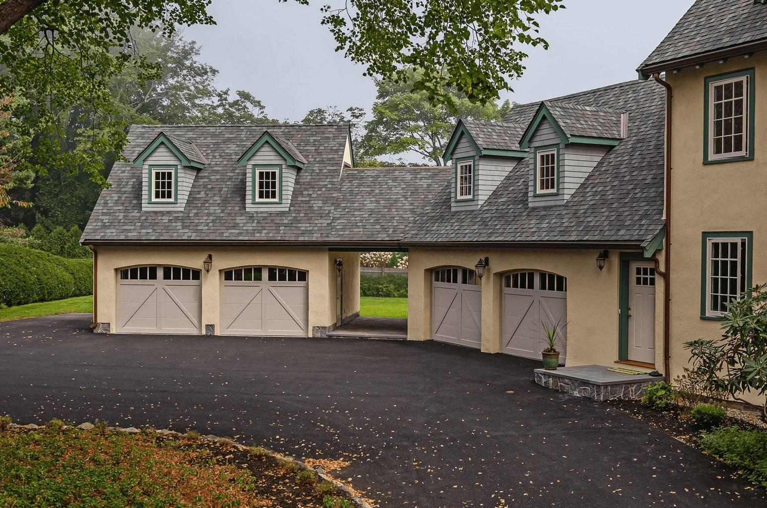 Overlay Carriage House Garage Door