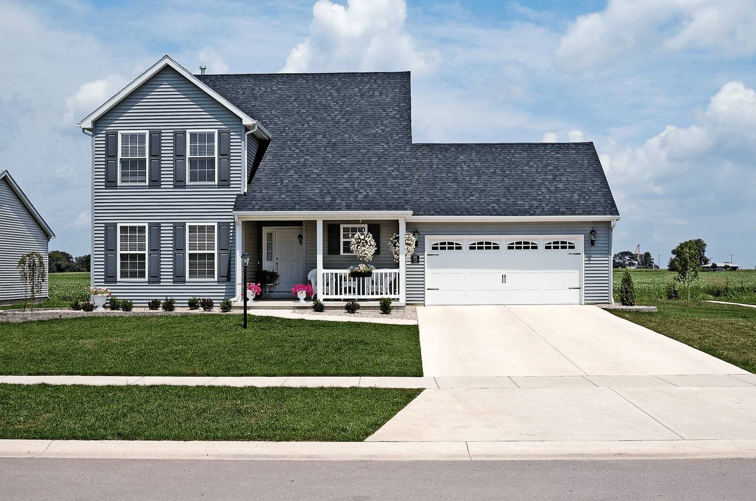 Stamped Carriage House Garage Door - Residential Garage Doors - Garage Door Services, Inc. Omaha