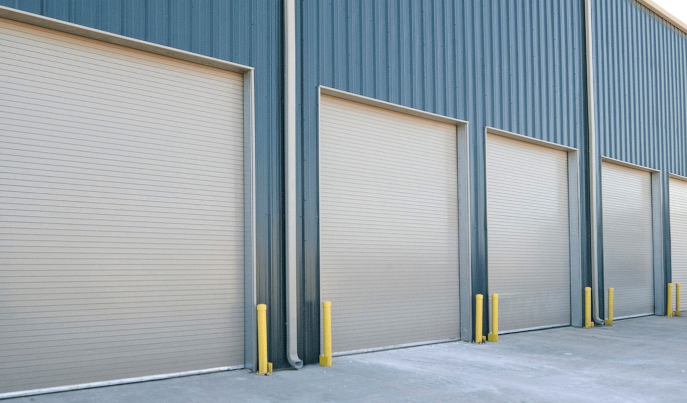 Rolling Steel Commercial Garage Door - Garage Door Services, Inc.